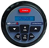 MB QUART GMRWDR Wired Remote For GMR 2 Marine ATV Boat Radio Stereo Receiver