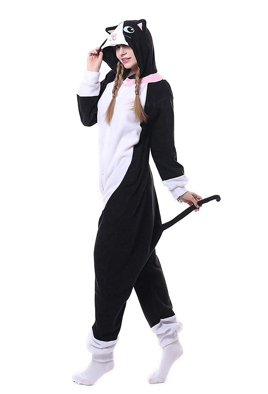 Honeystore Funny Animal Pjs One Piece Halloween Cosplay Costume Pajama  Sleepwear H1808B7 larger image 832627ae3