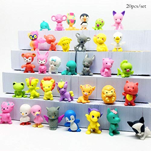 FidgetGear 20pcs Mini Animal Doll Little Pet Shop Dog Animal Figures Child Toys Gift Nice from FidgetGear