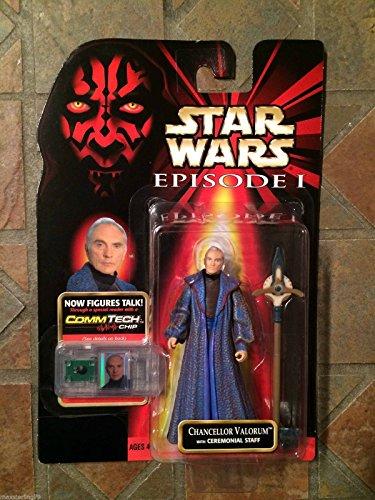 Qiyun Star Wars Chancellor Valorum Figure Episode I POTJ POTF Terrance Stamp Senate 076281841328