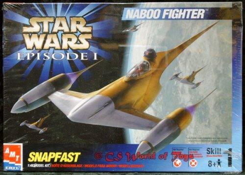 - Naboo Fighter Star Wars Model Kit