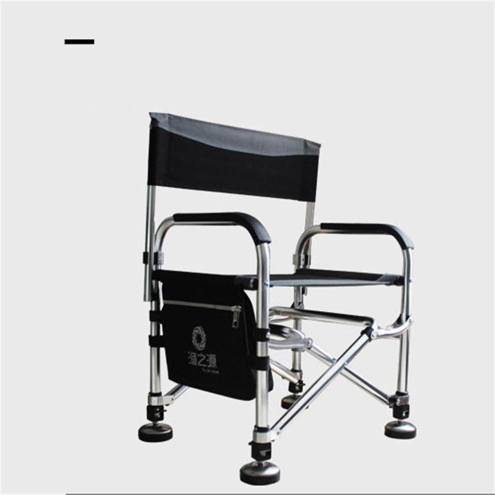 Nomadic Light Weight Stuhl mit verstellbaren Beinen für grobe Karpfen Angeln