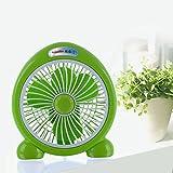 KTYX Electric Fan Desktop Home Fan Student Dormitory Turn Page Fan fan (Color : B)