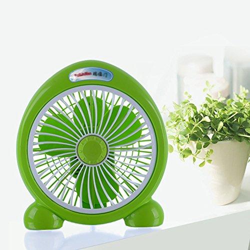 KTYX Electric Fan Desktop Home Fan Student Dormitory Turn Page Fan fan (Color : B) by KTYX