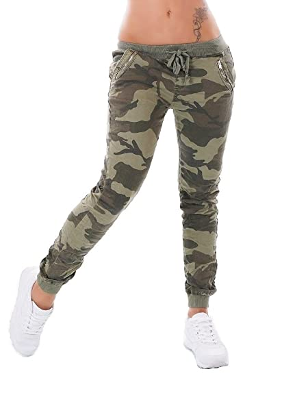 in stock shopping wholesale online Noir Triple XXX Women's Camouflage Jeans Trousers Boyfriend ...