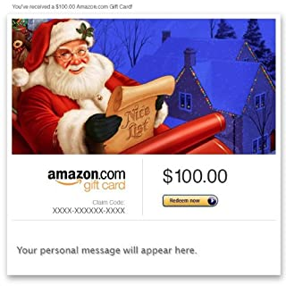 Amazon Gift Card - Email - Merry Christmas (Santa Claus) (B0062ONJZQ) | Amazon price tracker / tracking, Amazon price history charts, Amazon price watches, Amazon price drop alerts