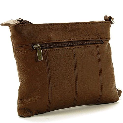 Coffee Designs SBR Women's Leather Organizer Bag Cross Body gPzPxO
