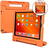 Cooper Dynamo Shock Proof Kids case for iPad Pro 12.9 2015 2017 | Heavy Duty Kidproof Cover for Kids | Kid Friendly Handle & Stand, Screen Protector | A1584 A1652 A1670 A1671 A1821 (Orange)