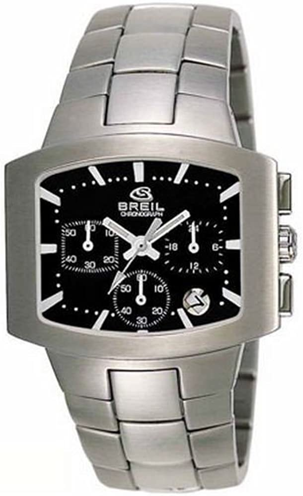 Breil Reloj analogico para Hombre de Cuarzo con Correa en Acero Inoxidable 2519740684