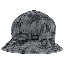 Billabong new Dope Dye Black Bucket Hat Cap Medium/Large M/L $30