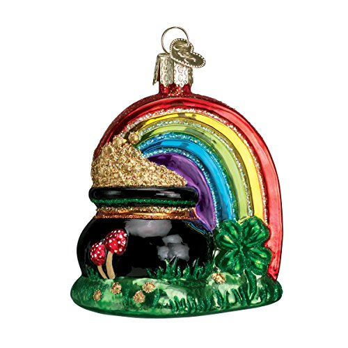 Old World Christmas Pot Of Gold Glass Blown Ornament by Old World Christmas