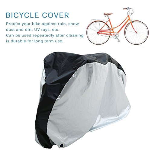 Bike Rain Dust Cover Waterproof Outdoor Scooter Protective For Bicycle Cycling XL by CLKJYF
