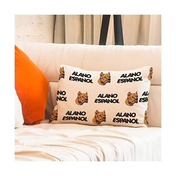 Personalized Pillow Case Alano Espanol Dog Breed Style A Polyester Pillow Cover 20INx28IN Design Only Set of 2 7