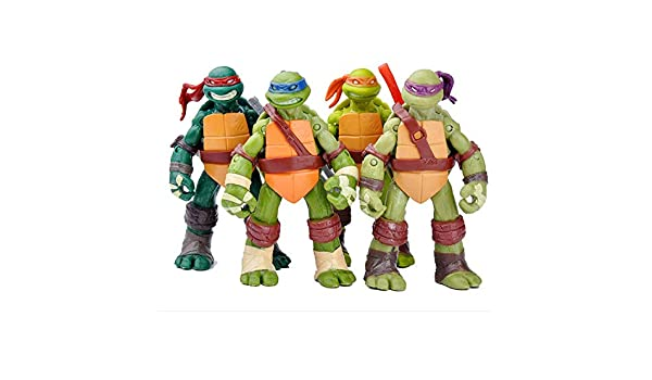 Teenage Mutant Ninja Turtles Anime Figura Modelo Juguetes ...