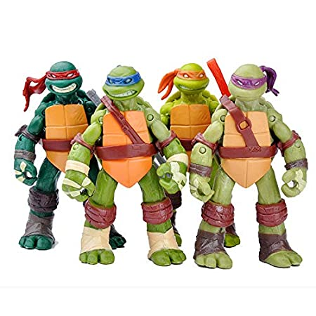 Las Tortugas Ninja Figuras De Acción Juegos De Construcción ...