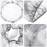 4 Pack Head Net Face Netting Neck Cover Netting