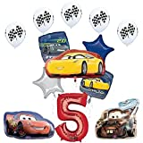 The Ultimate Disney Pixar Cars ''3'' 5th Birthday Party Supplies and Balloon Decorations