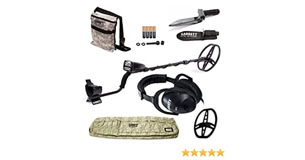 Amazon.com : GARRETT AT PRO METAL DETECTOR W/8.5 X 11 DD COIL & COVER ADVENTURE PK DVD W/MUST HAVE ACCESSORIES : Hobbyist Metal Detectors : Garden & Outdoor