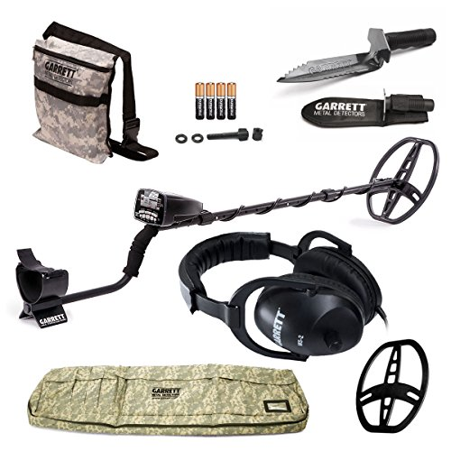 GARRETT AT PRO METAL DETECTOR W/8.5 X 11 DD COIL & COVER ADVENTURE PK DVD W/MUST HAVE ACCESSORIES Review