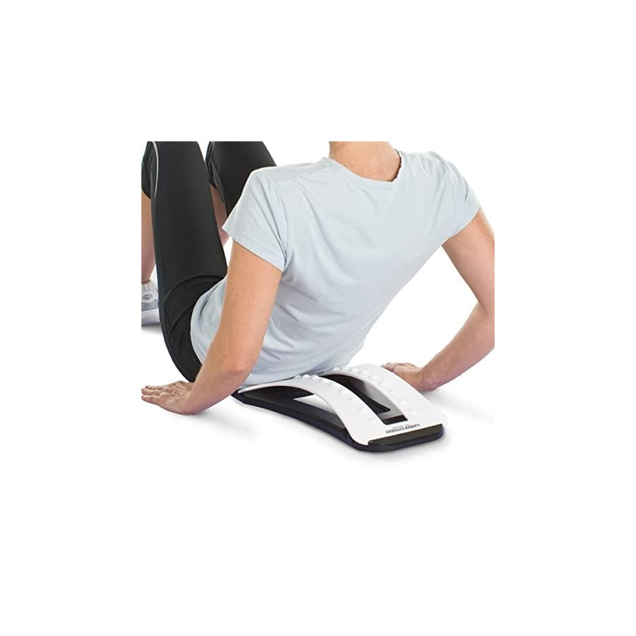 Orthopedic Back Stretcher w/Lumbar Support Improved Design, Multi level Orthopedic Back Stretching with Instructional CD Therapeutic Back Stretcher