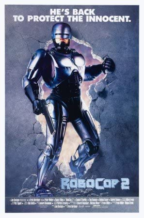 Robocop 2 – U.S Movie Wall Poster Print - 43cm x 61cm / 17 inches ...