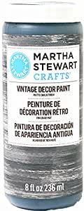 Martha Stewart Crafts Vintage Decor Paint in Assorted Colors (8-Ounce), 33520 Beetle Black