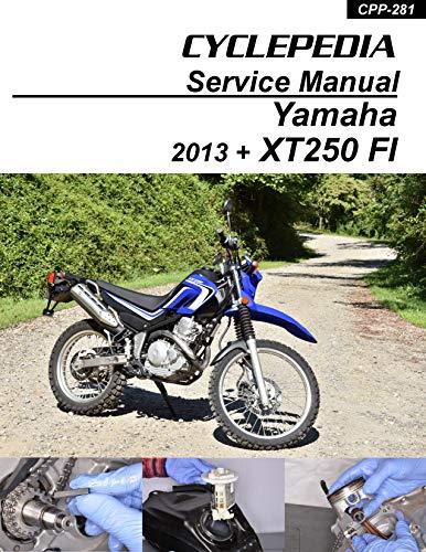 Cyclepedia Yamaha XT250 EFI Service Manual