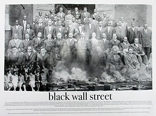 (777 Tri-Seven Entertainment Black Wall Street Poster,)