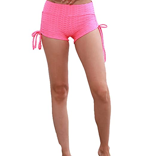 937f8ff4857 Amazon.com: VICCKI Women's Casual Cotton Running Shorts Yoga Jogging ...