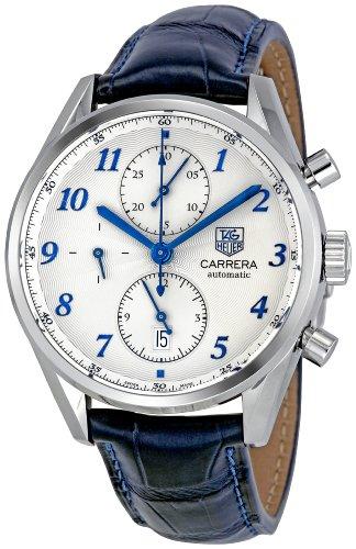 Tag Heuer Men's CAS2111.FC6292 Carrera Heritage Silver Dial Dress Watch