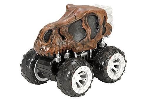 Wild Republic T-Rex Skull, Push action motor vehicle, Gifts for Kids, Imaginative Play, Motor Headz 5 Inches