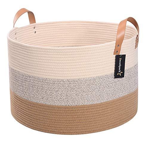 Details about  /2Pcs Hemp Rope Basket Storage Container Desktop Basket for Bedroom Sundries Food