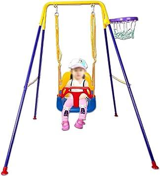 AYHa Balancín del sitio de niños, juguetes de los hogares cubierta columpio al aire libre multifunción creativo Cuna Salón Dormitorio Jardín oscilación,A: Amazon.es: Bricolaje y herramientas