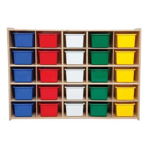 25 Cubby Storage Unit