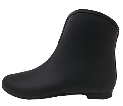 Amazon.com | Jeffrey Campbell Vee Rain Boot - Black, size 10B (M ...