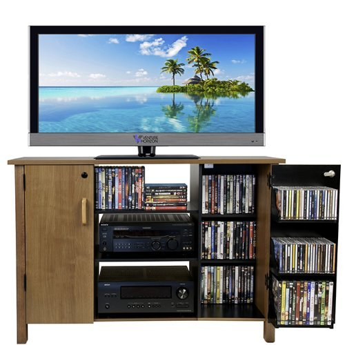 Venture Horizon Multi Media A/V Cabinet- (50 Inch Media Tower)