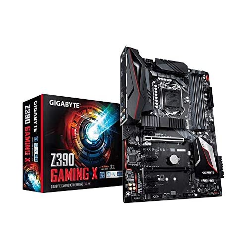 chollos oferta descuentos barato Gigabyte Z390 Gaming X LGA 1151 Zócalo H4 Intel Z390 ATX Placa Base DDR4 SDRAM DIMM 2133 2400 2666 MHz Dual 16GB 64 GB Negro