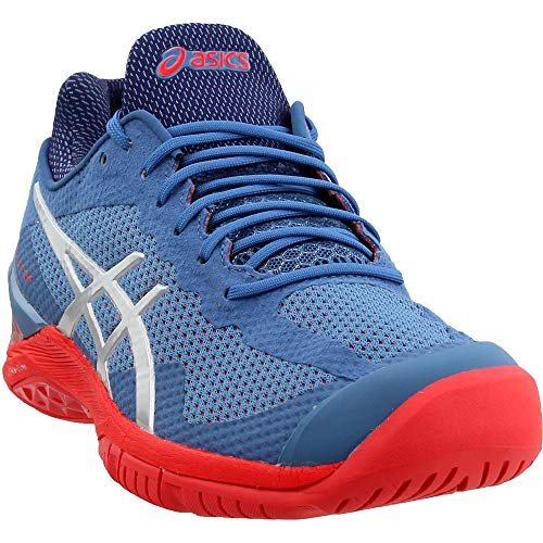 ASICS Gel-Court FF Tennis Shoe, Indigo Blue/Safety Yellow, 10.5 M US