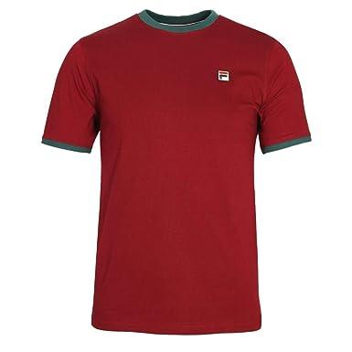Fila Vintage Herren Marconi T Shirt, Weiß: : Bekleidung