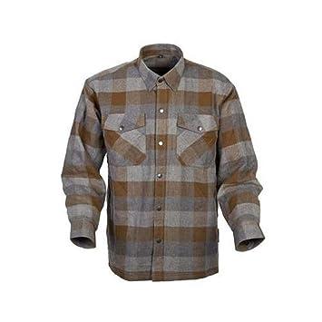 SCORPION Covert Camisa de Kevlar con forro de franela marrón/marrón 3 x l