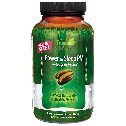 Irwin Naturals Power to Sleep Pm Economy Diet Supplement, 120 ()