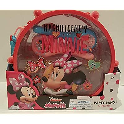 Disney Junior Minnie Party Band 10 Piece Set: Toys & Games