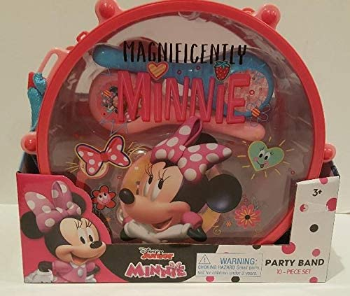 Disney Junior Minnie Party Band 10 Piece Set: Amazon.es: Juguetes y juegos