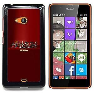 """Qstar Arte & diseño plástico duro Fundas Cover Cubre Hard Case Cover para Nokia Lumia 540 (Tf 2 - Equipo F0Rtress Juego"""")"""
