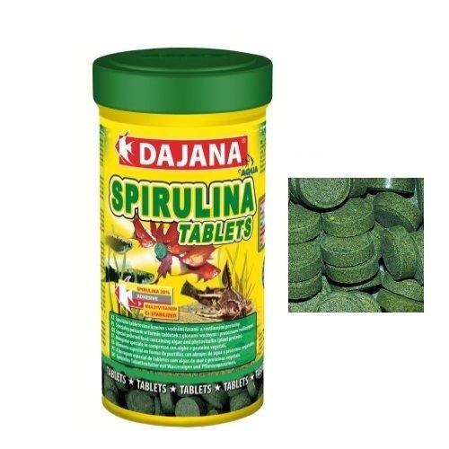 1 opinioni per Dajana Spirulina Tablets- Mangime speciale in compresse per pesci, con alghe e