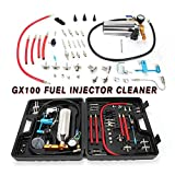 TBvechi Fuel Injector Cleaner, GX100 Auto Fuel Injector Cleaner Non-dismantle Fuel Intake System Cleaner Tester
