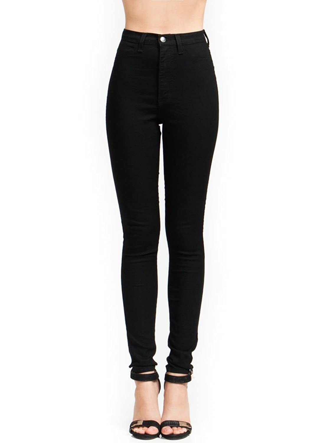 High-Waisted Skinny Jeans at Amazon Women's Jeans store