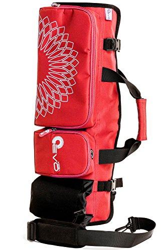 Yoga EVO Yoga Mat Bag, Yoga Duffle bag, Yoga Mat Tote Bag, Red Yoga Bag