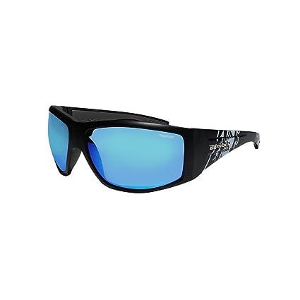Bomber gafas de sol – ahi Bomba mate negro FRM/hielo azul polarizadas lente gris