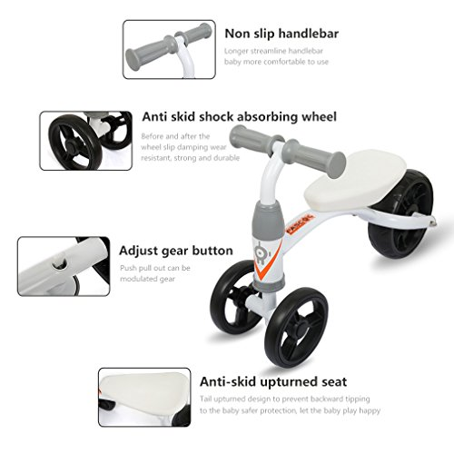 8206cd98bb0 Fascol Kick Scooter,3 Wheel Adjustable Height Scooter with Big Flash  wheel,Weight Supported